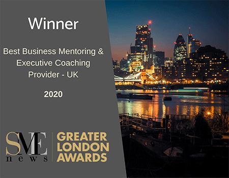 Best Business Mentoring & Executive Coaching Winner 2019 Greater London Awards